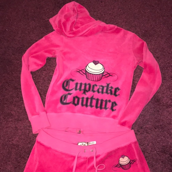 Juicy Couture Other Pink Velour Sweatsuit Poshmark